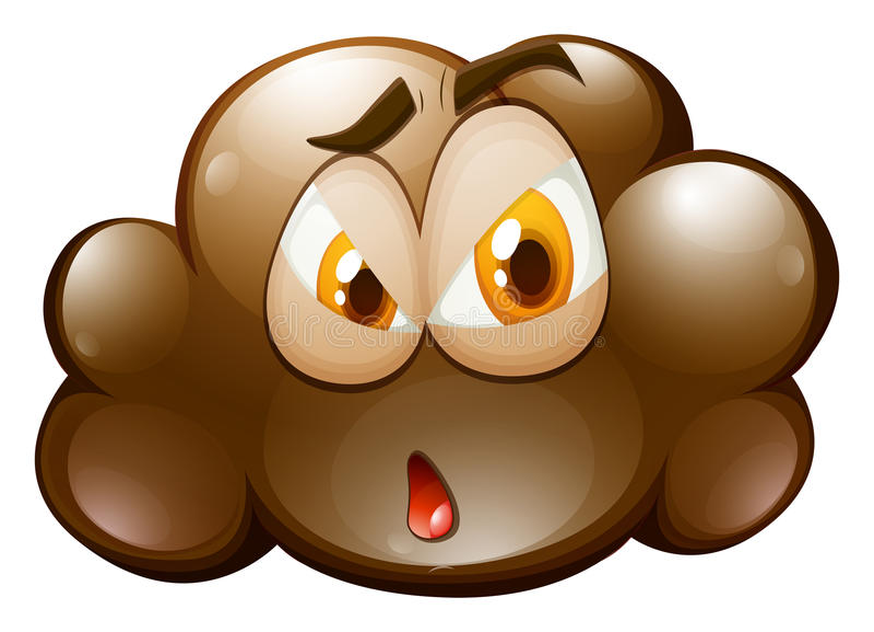Download 在棕色云彩的表情 向量例证. 插画 包括有 情感, 例证, bubblegum, 感觉, 夹子, 图象, 表达式 - 59108284