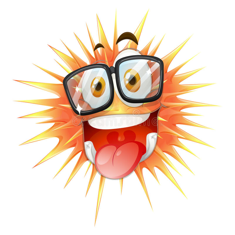 Download 在棘手的球的愉快的面孔 向量例证. 插画 包括有 橙色, 例证, 感觉, 棘手, 面部, 艺术, 表达式 - 59108413