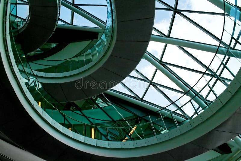 在楼梯之上 免版税库存图片