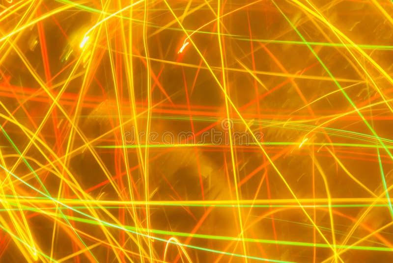 在橙色和黄色口气的抽象背景 库存图片