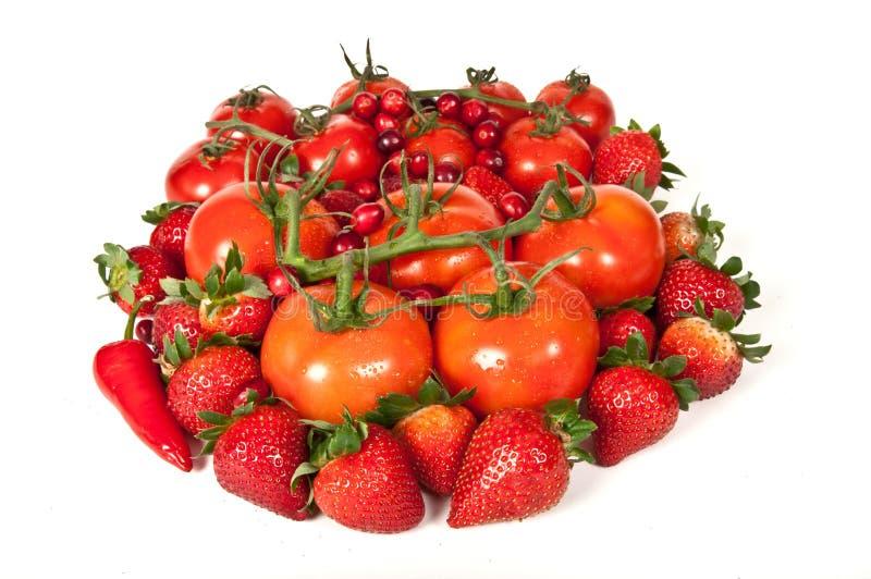 在此新鲜农产品附近获得您的胳膊。 免版税库存图片