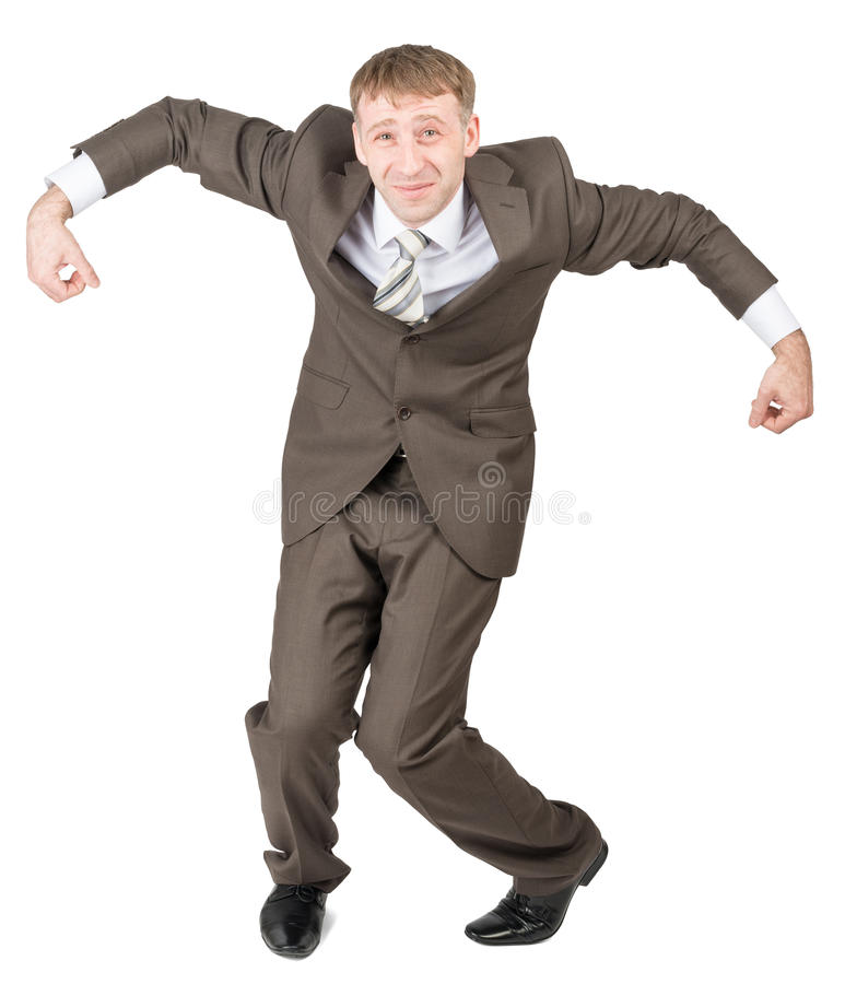 Download 在残破的姿势的商人 库存照片. 图片 包括有 成功, 纵向, 成人, 正式, 摆在, 查出, 突出, 样式 - 72354686