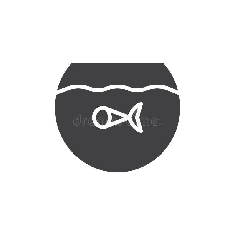 在水族馆象传染媒介的鱼 皇族释放例证