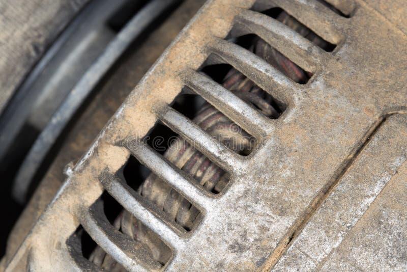 在汽车的交流发电机 库存图片