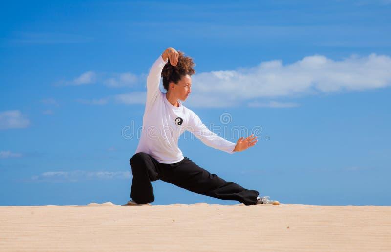 在沙丘的泰国凯爱 免版税库存照片