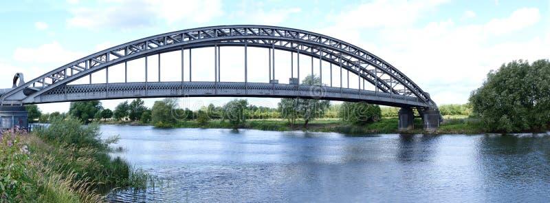 在河特伦特的桥梁 库存图片