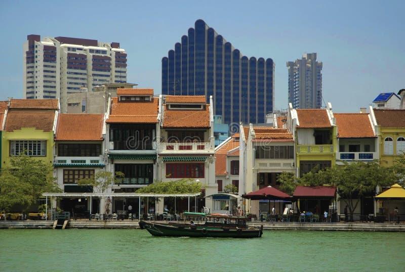 在河系列新加坡附近 图库摄影
