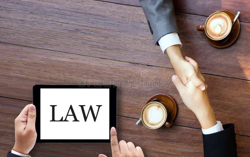 在法律胜利的队律师的正义律师法律信任案件l 免版税库存照片