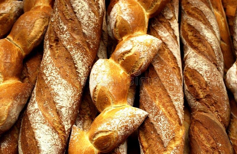 在法语上添面包 免版税库存照片