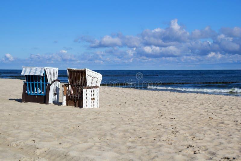 在波罗的海的一个早晨 免版税库存照片