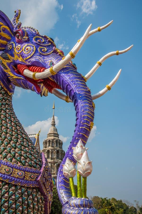 在泰国传统童话的大象 库存照片