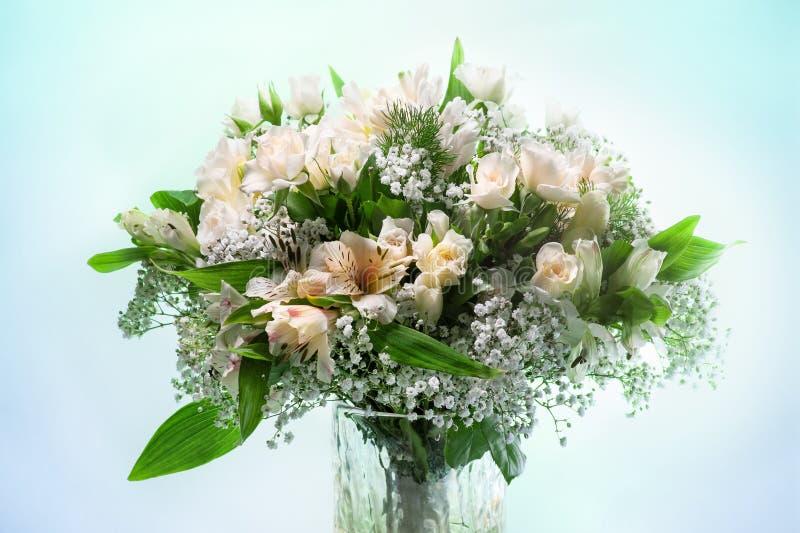 开花花束 库存图片