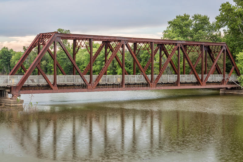 在浅田足迹的支架在密苏里 免版税图库摄影