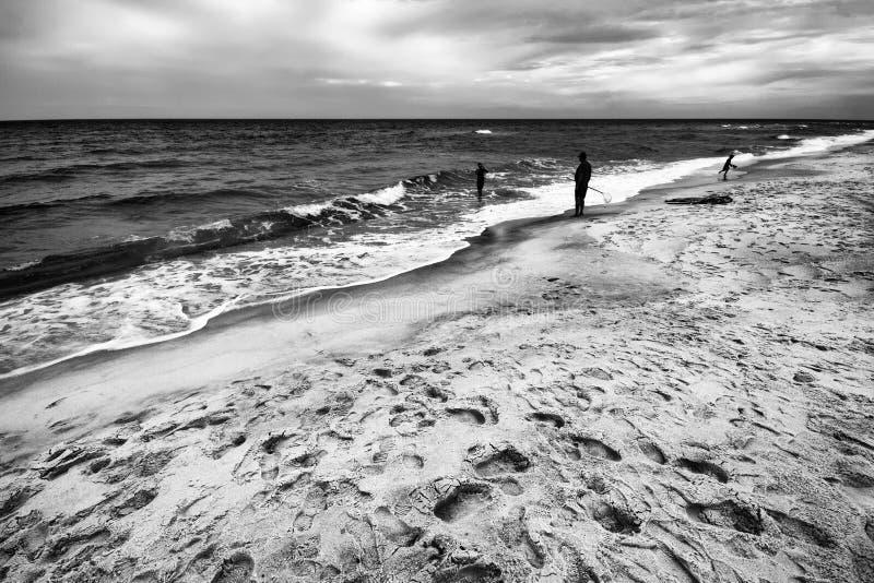在海湾的图 库存照片