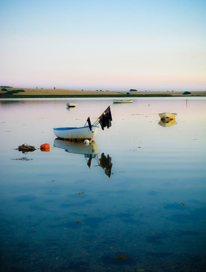在海湾的安静 库存照片