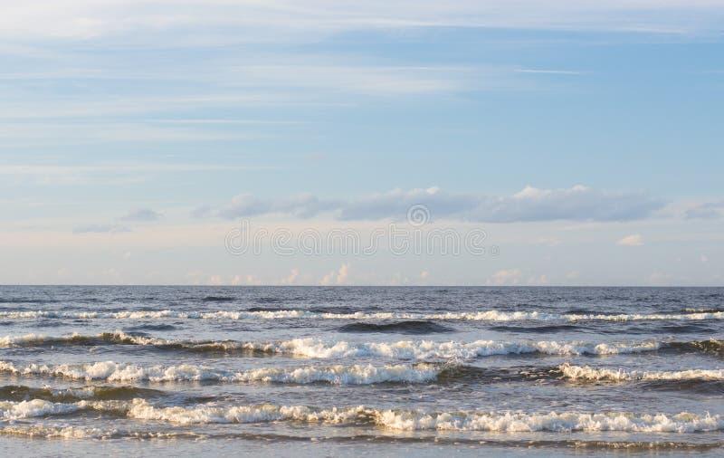 在海滨的夏日 库存照片