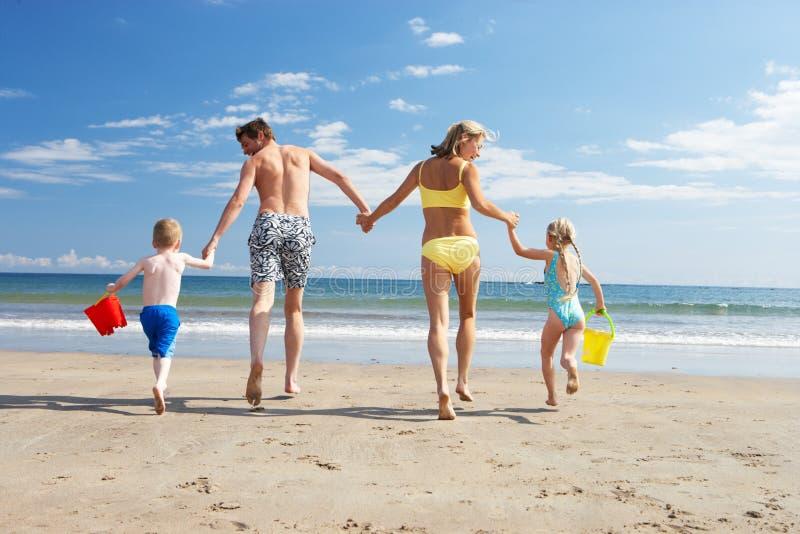 在海滩假期的系列 免版税库存图片