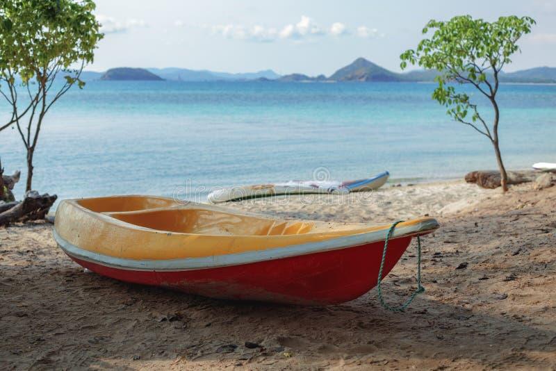 海洋皮船 库存照片