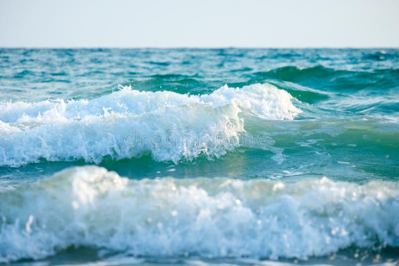 在海滩的通知 免版税库存图片