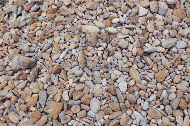 在海的沙粒 库存图片