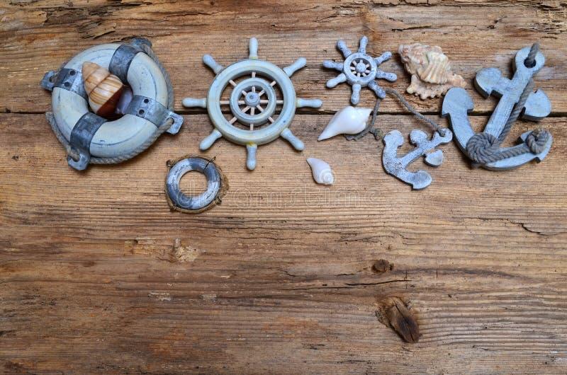 在海背景的假日 免版税图库摄影