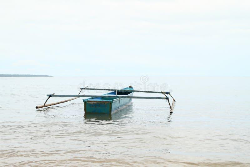 在海运的小船 免版税图库摄影
