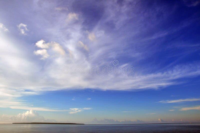 在海, Sumenep, EastJave印度尼西亚中间的某一海岛 库存图片