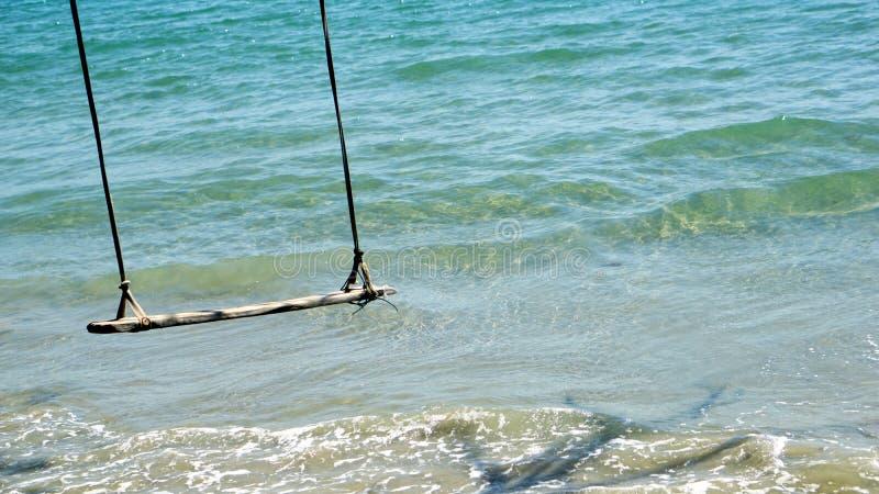 在海滩的夏天 库存图片