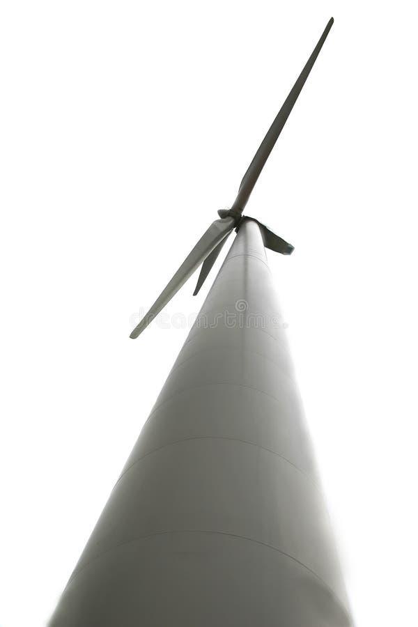 在涡轮白色风 库存图片