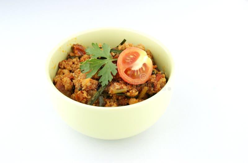 Download 辣肉和蕃茄垂度 库存图片. 图片 包括有 草本, 烹调, 本质, 蕃茄, 附属程序, 猪肉, 调味汁, 菜单 - 30329687
