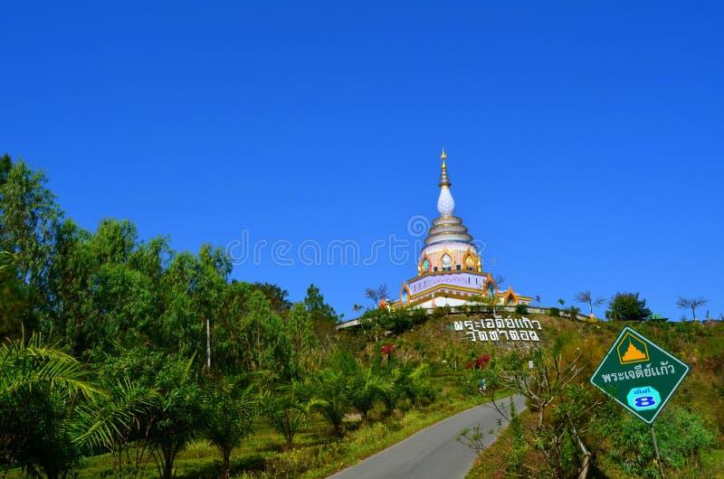 Wat Thaton看法在泰国 库存图片