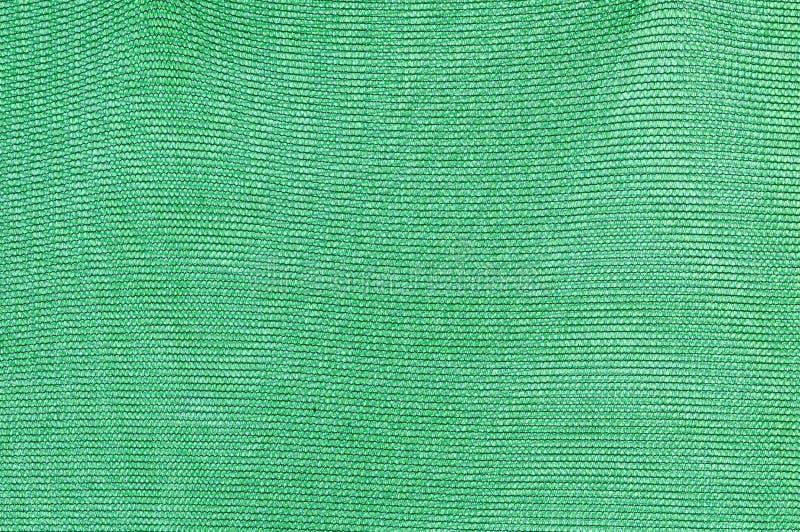 在温室屋顶的绿色阴影净额 免版税库存照片