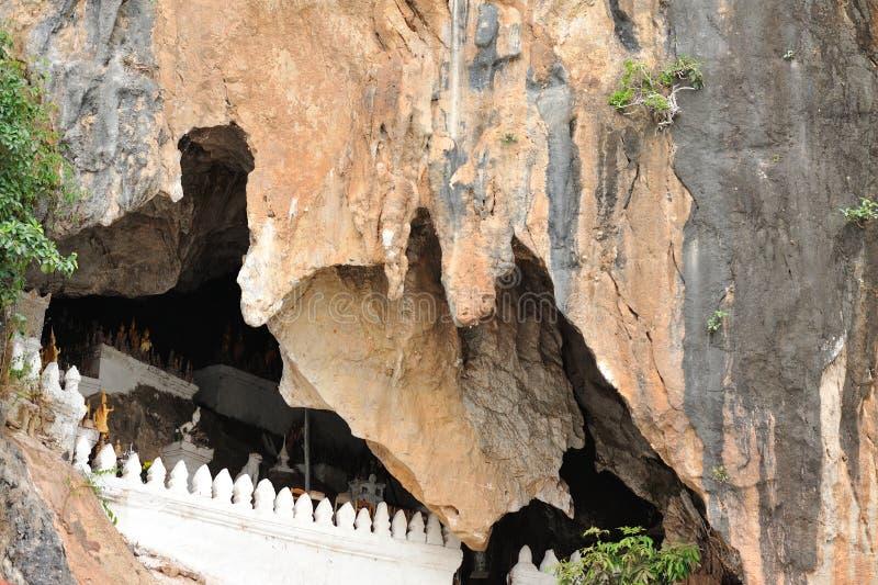 朴在湄公河的Ou洞 库存照片