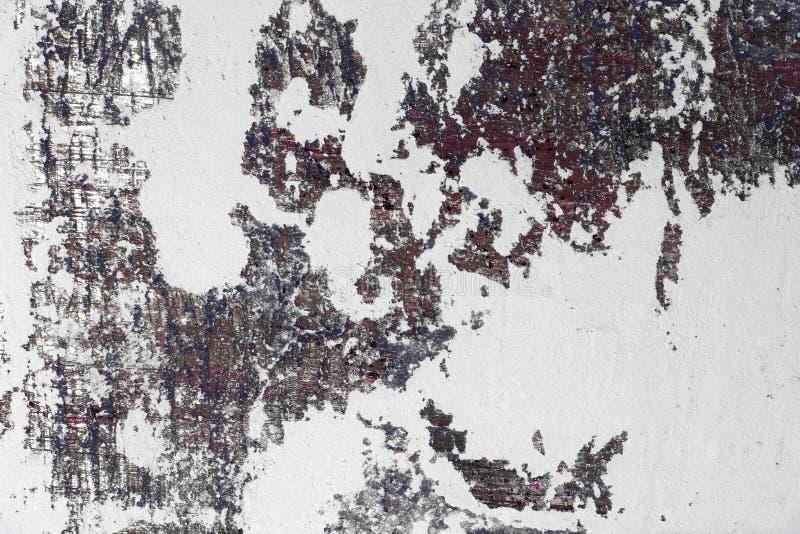在灰泥的巨大的脏的孔在书桌纹理-美好的抽象照片背景 库存照片