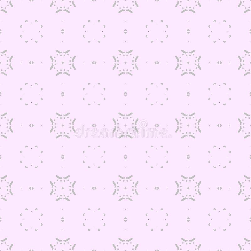 在灰色和桃红色的一个无缝的样式 免版税库存照片