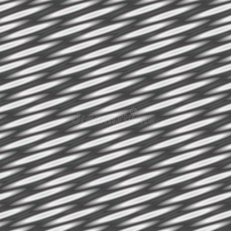 在灰色梯度的抽象几何背景与弯曲的线 库存例证