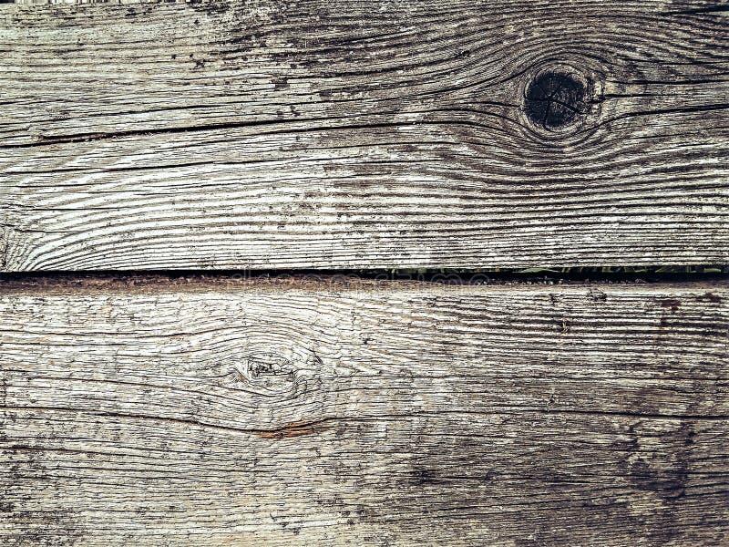 在灰色的老土气被风化的木背景 免版税库存图片