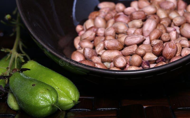 在烹调前加香料特点印度尼西亚 免版税图库摄影