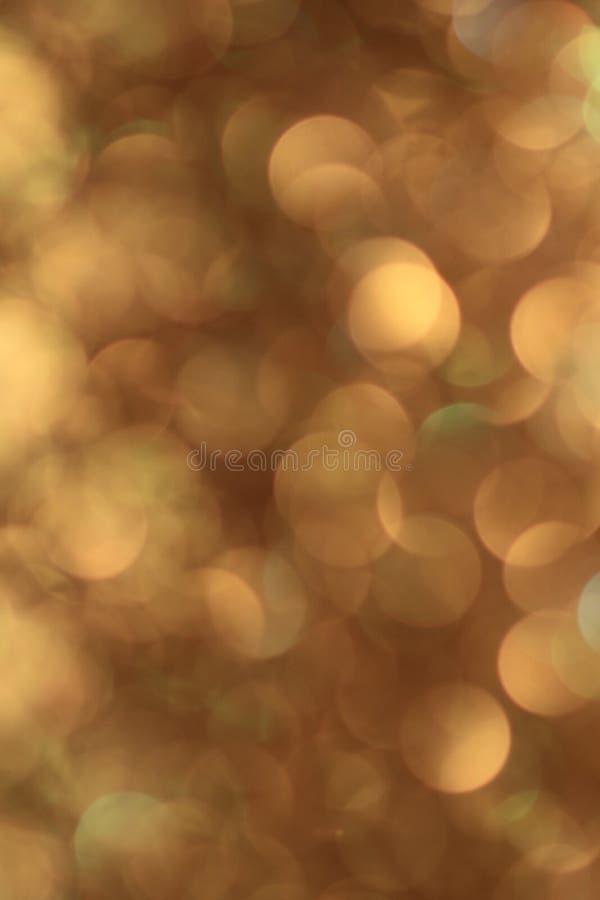 在焦点金黄圈子外面 免版税图库摄影