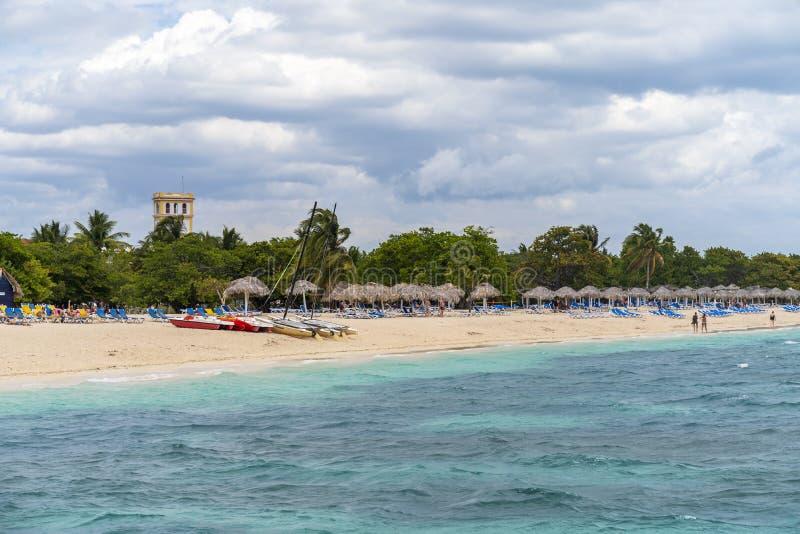 在特立尼达,特立尼达,古巴,西印度群岛,加勒比附近的Playa肘 图库摄影