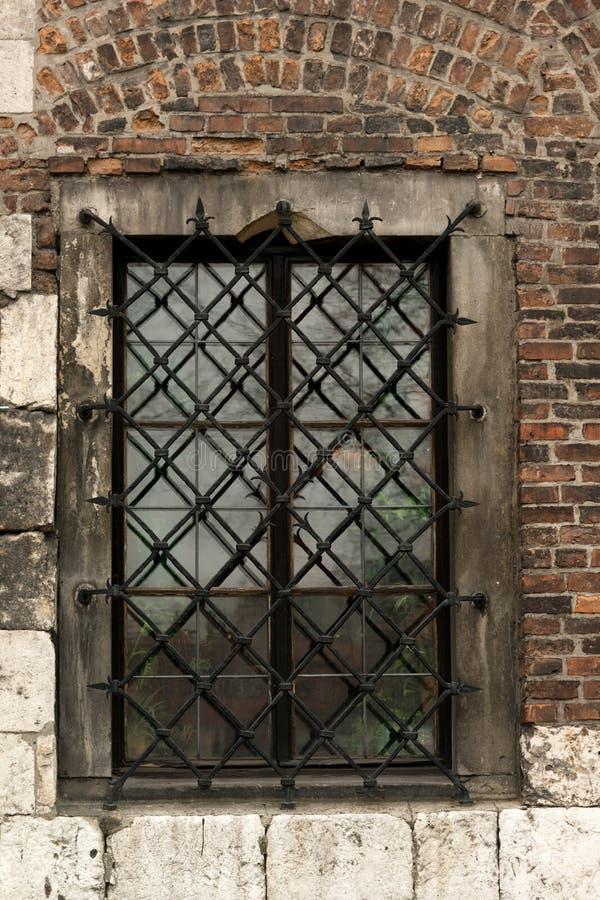 在犹太卡齐米日的老大厦 免版税库存图片