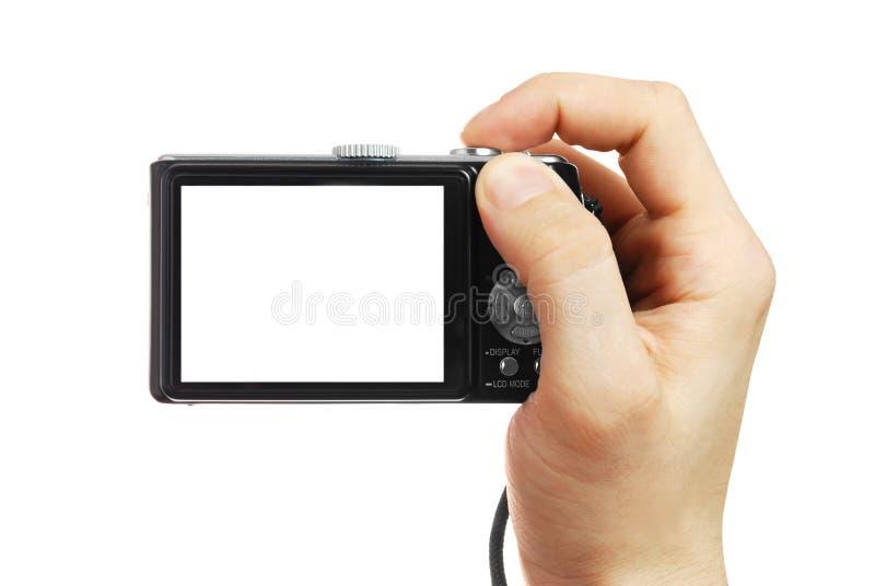 在现有量的数字照相机 免版税库存照片