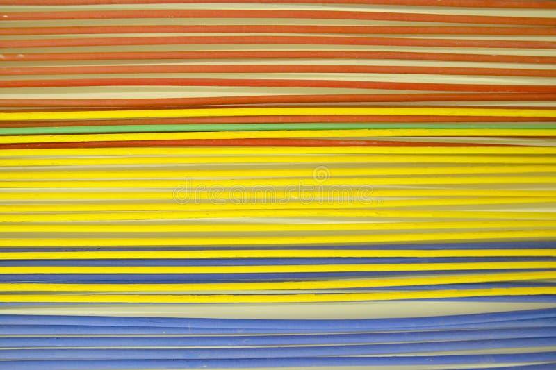 在现代和当代艺术尼斯,尼斯,法国博物馆的绘画  免版税库存图片