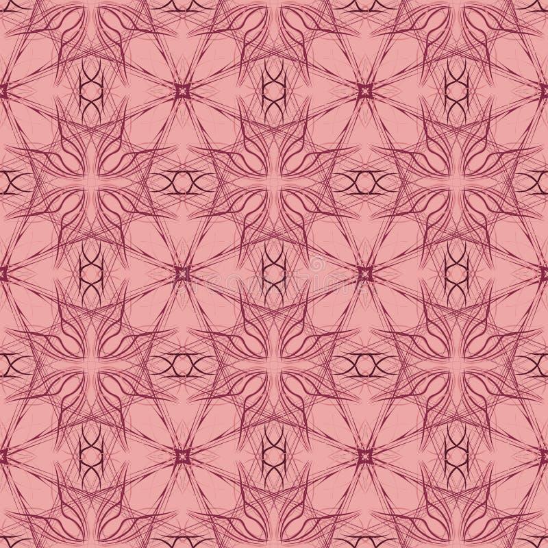 在现代马尔萨拉颜色的抽象样式 向量例证