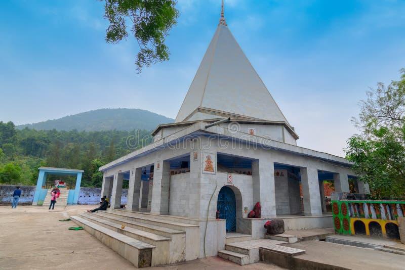 在班库拉,西孟加拉邦,印度的Biharinath寺庙 免版税库存照片