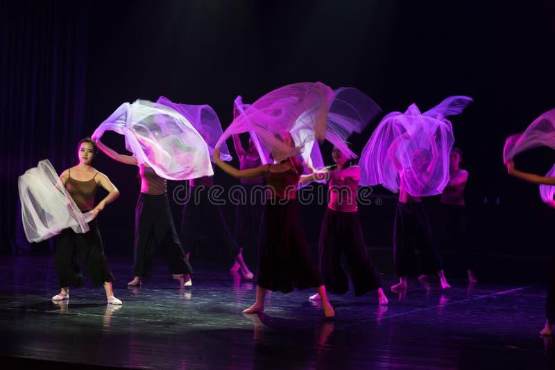 在理想和现实2之间--舞蹈戏曲驴得到水 免版税库存图片