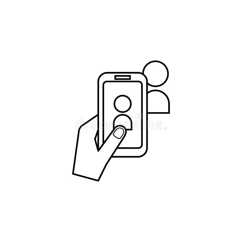 在电话象的照片 普遍的照相机象的元素 优质质量图形设计 标志,标志网站的汇集象, w 向量例证