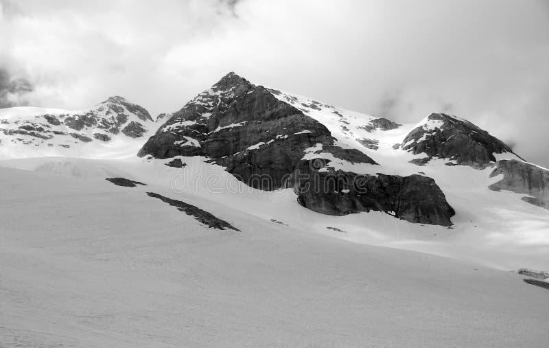 在白云岩山的美丽的景色 图库摄影