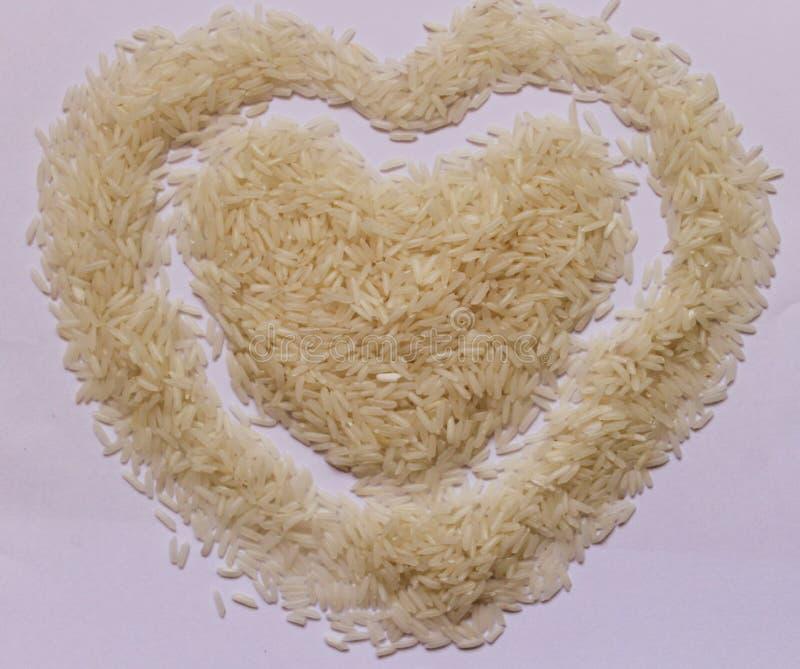 在白板的米 免版税库存图片