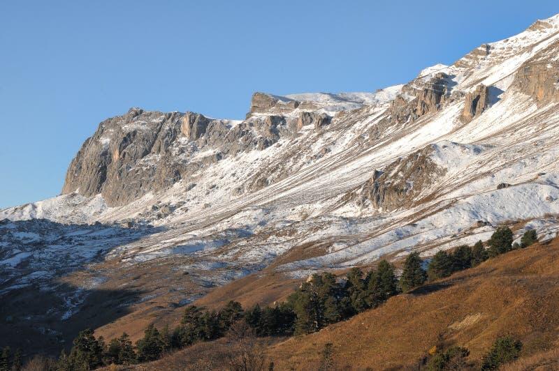 在白种人储备的山Oshten,俄语 库存图片